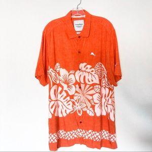 Tommy Bahama Texas Longhorns Hawaiian Shirt